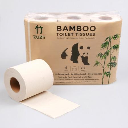 Papier toaletowy bambusowy 6szt*BAMBOO ZUZII*