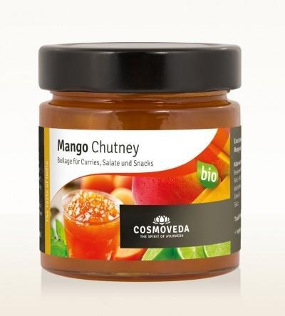 Pasta / sos chutney z mango 225g*COSMOVEDA*BIO