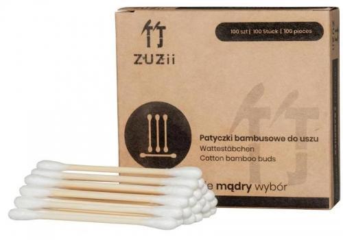 Patyczki bambusowe do uszu 100szt*ZUZII BAMBOO*