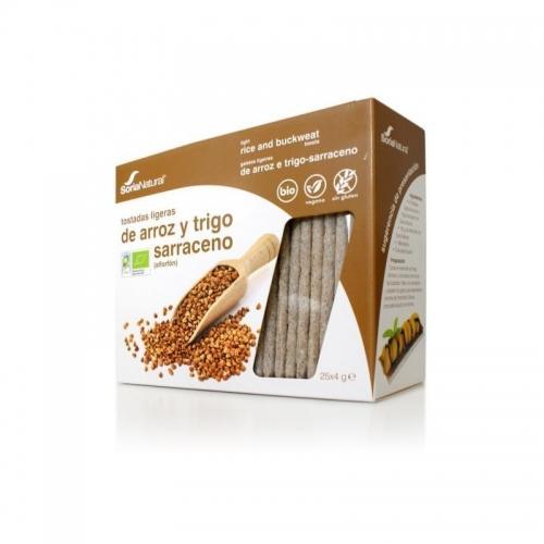 Pieczywo chrupkie ryżowe / gryczane 95g*SORIA NATURAL*BIO