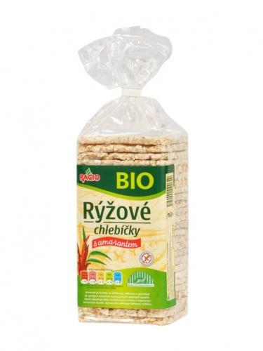 Pieczywo chrupkie ryżowe z amarantusem 140g*RACIO*BIO