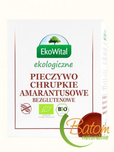 Pieczywo chrupkie z amarantusem bezglutenowe 100g*EKOWITAL*BIO