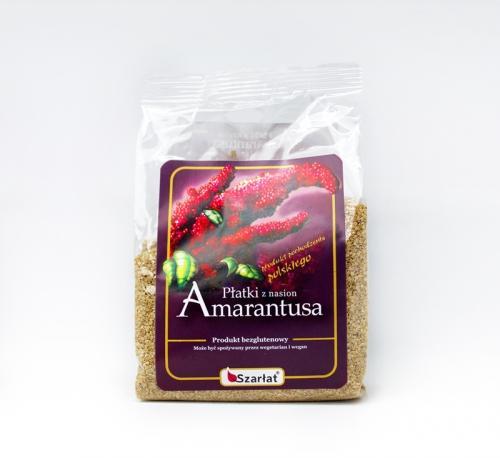 Płatki z nasion amarantusa bezglutenowe 250g*SZARŁAT*