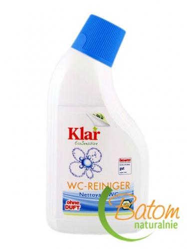 Płyn **Sensitive** do czyszczenia toalet 500ml*KLAR*BIO