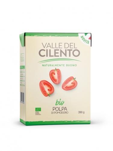 Pomidory krojone 390g*CILENTO*BIO
