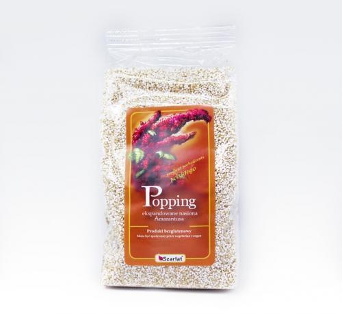 Popping bezglutenowy z nasion amarantusa 150g*SZARŁAT*