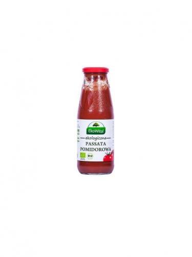 Przecier pomidorowy **Passata** 680g*EKOWITAL*BIO - opakowanie zbiorcze po 12 szt.