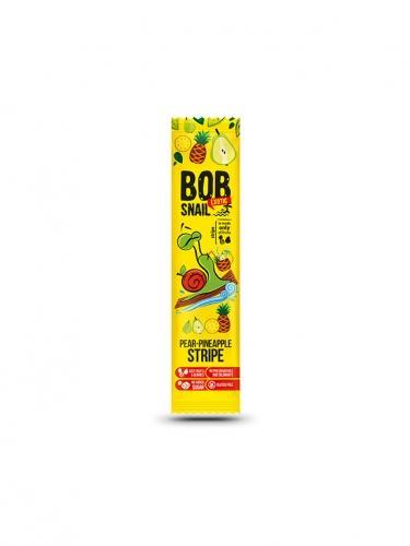 Przekąska **Stripe** owocowa gruszka / ananas 14g*BOB SNAIL*