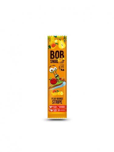 Przekąska **Stripe** owocowa gruszka / mango 14g*BOB SNAIL*