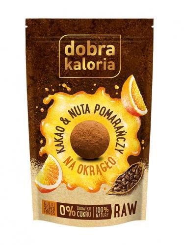 Przekąska **Na Okrągło** kakao / nuta pomarańczy 65g*DOBRA KALORIA*