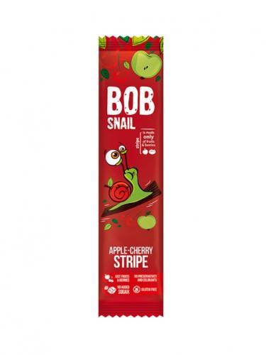 Przekąska **Stripe** owocowa jabłko / wiśnia 14g*BOB SNAIL*