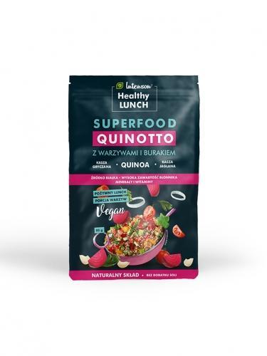 Kasza **Quinotto** z warzywami i burakiem 80g*INTENSON HEALTHY LUNCH* TERMIN: 31.08.2020