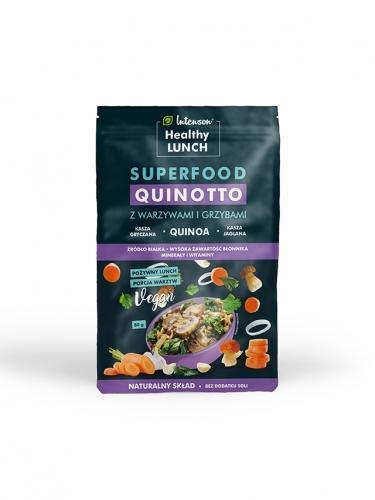 Kasza **Quinotto** z warzywami i grzybami 80g*INTENSON HEALTHY LUNCH* TERMIN: 31.08.2020