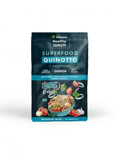 Kasza **Quinotto** z warzywami 80g*INTENSON HEALTHY LUNCH* TERMIN: 31.08.2020