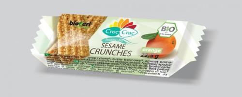 Sezamki pomarańczowe orange 22,5g*CROC-CRAC*BIO