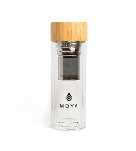 Shaker szklany do matchy 320ml*MOYA*