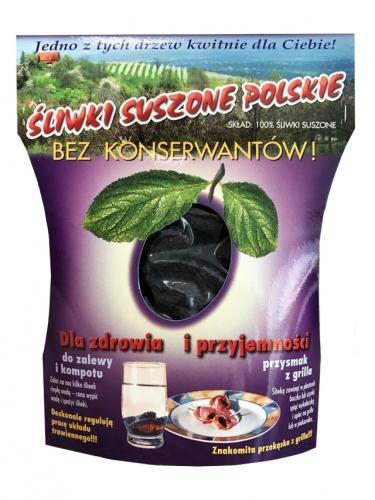 Śliwki polskie suszone 200g*KALEJDOSKOP*