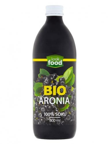 Sok 100% **Aronia** 500ml*LOOK FOOD*BIO TERMIN: 31.05.2021