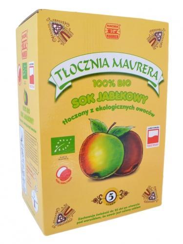 Sok jabłkowy karton 5l*MAURER*BIO