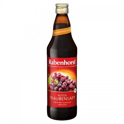 Sok z czerwonych winogron 750ml *RABENHORST* BIO
