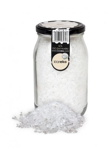 Sól do zmywarki bezzapachowa słoik 1kg*KLAREKO*