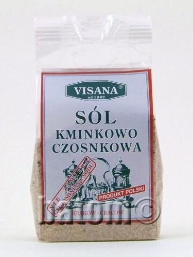 Sól kminkowo - czosnkowa 175g*VISANA*