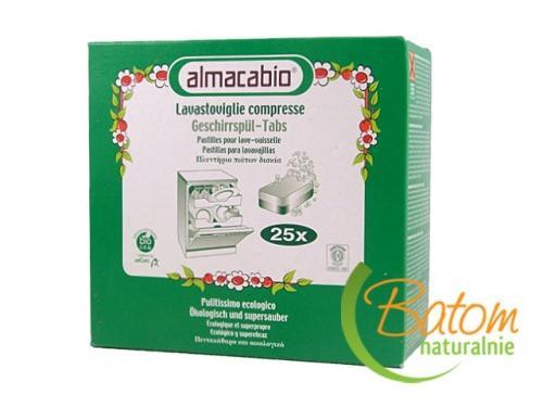 Tabletki do zmywarek 25szt*ALMACABIO*BIO