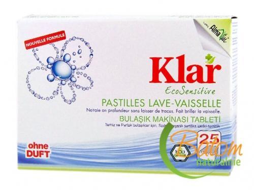Tabletki do zmywarek 25szt*KLAR*BIO