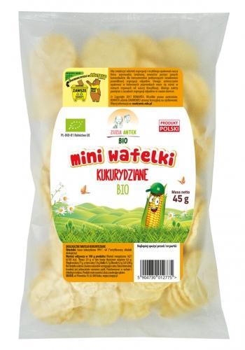Wafelki / talarki kukurydziane 45g*ZUZIA ANTEK*BIO