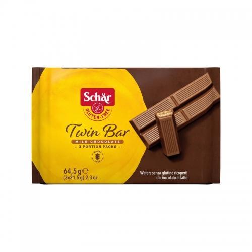 Wafelki **Twin bar** w czekoladzie 64,5g*SCHÄR*