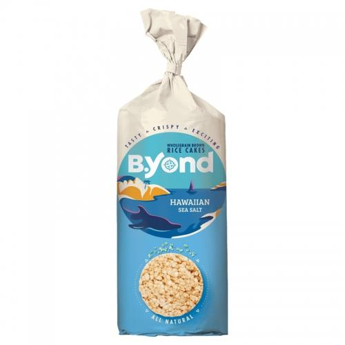 Wafle ryżowe pełnoziarniste / hawajska sól morska 100g*B.YOND* TERMIN: 05.10.2021