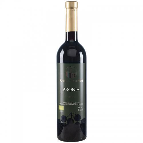 Wino aroniowe czerwone / wytrawne / Polska 750ml*VIN-KON*BIO