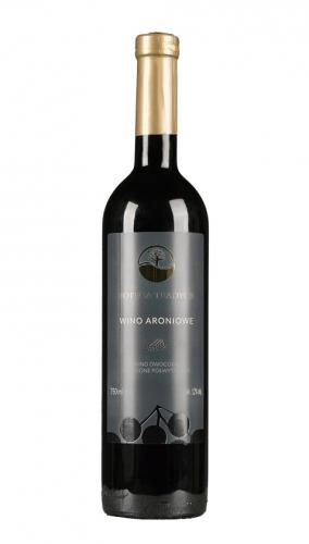 Wino aroniowe czerwone / półwytrawne / Polska 750ml*VIN-KON*