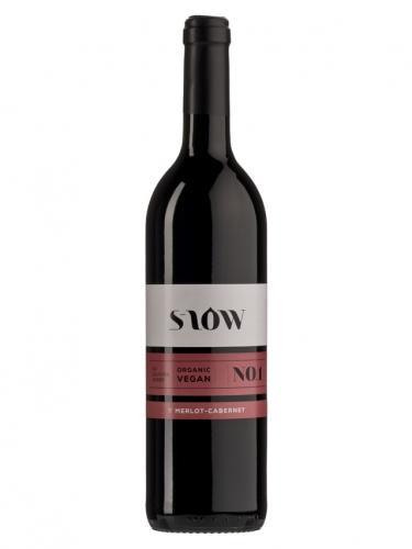 Wino bez siarczynów czerwone / gronowe / Włochy 750ml*MERLOT-CABERNET SLOW*BIO