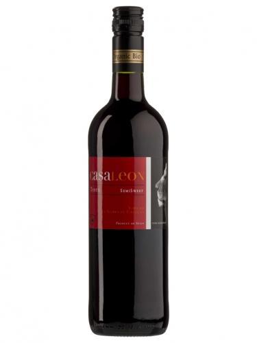 Wino czerwone / półsłodkie / Hiszpania 750ml*CASALEON*BIO