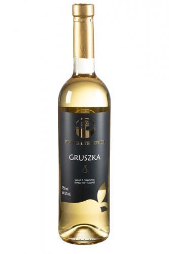 Wino gruszkowe / białe / wytrawne / Polska 750ml*VIN-KON*
