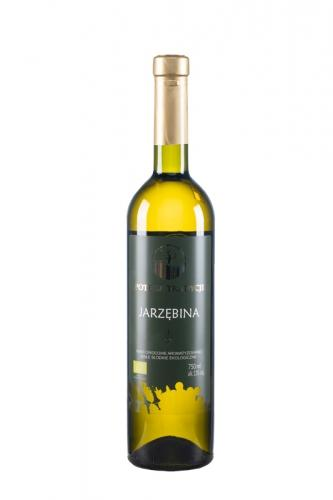 Wino jarzębinowe / białe / słodkie / Polska 750ml*VIN-KON*BIO
