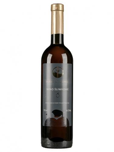 Wino śliwkowe / półwytrawne / Polska 750ml*VIN-KON*