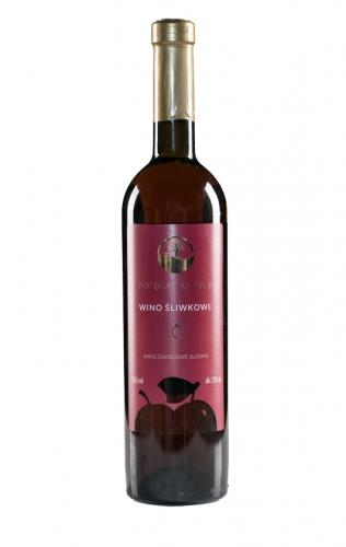 Wino śliwkowe / słodkie / Polska 750ml*VIN-KON*