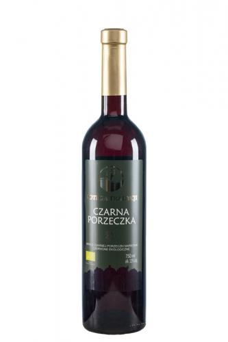 Wino z czarnej porzeczki / czerwone / Polska 750ml*VIN-KON*BIO