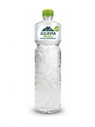 Woda źródlana alkaliczna pH 9,4 1l*AQUAVIA*