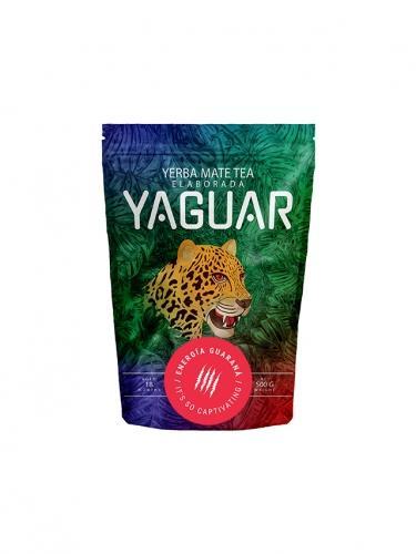Yerba Mate z guaraną 500g*YAGUAR*  - najlepiej spożyć przed: 17.10.2021