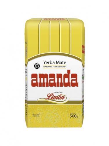 Yerba Mate cytrynowa 500g*AMANDA*