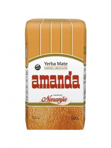 Yerba Mate pomarańczowa 500g*AMANDA*