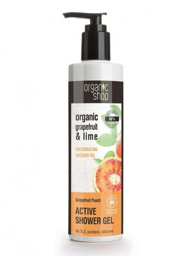 Żel pod prysznic **Grapefruit & Lime** 280ml*ORGANIC SHOP*ECO