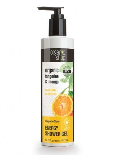Żel pod prysznic **Tangerine & Mango** 280ml*ORGANIC SHOP*ECO