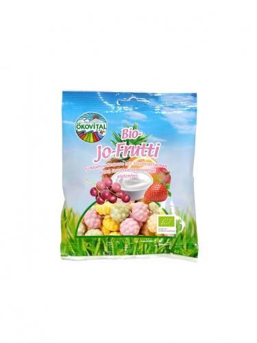 Żelki bezglutenowe owocowo / jogurtowe 80g*ÖKOVITAL*BIO