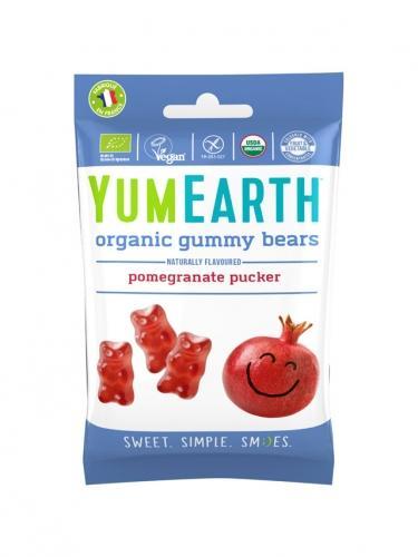 Żelki owocowe **Pomegranate pucker** 50g*YUMEARTH ORGANICS*BIO